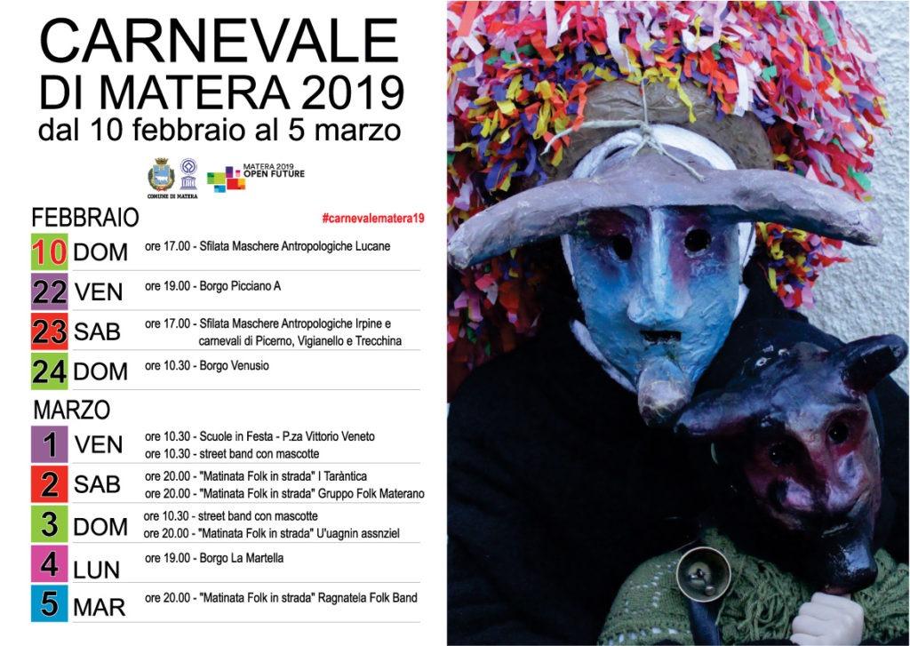 Carnevale Matera 2020